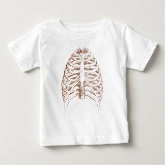 T-shirt Pour Bébé os humains