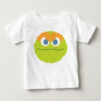 T-shirt Pour Bébé Oscar de bébé le grand visage de rouspéteur