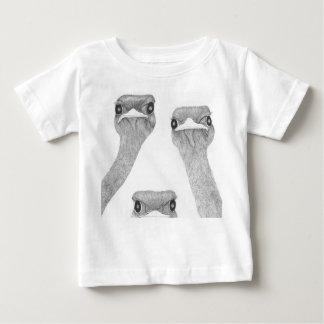 T-shirt Pour Bébé Ostriches