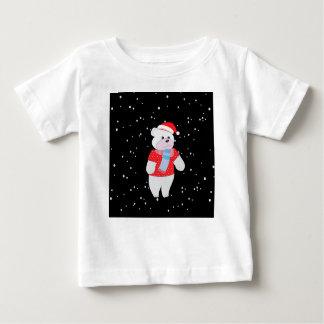 T-shirt Pour Bébé ours blanc