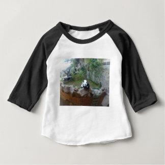 T-shirt Pour Bébé Ours panda