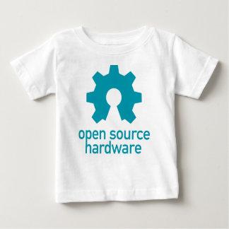 T-shirt Pour Bébé Ouvert-source-matériel