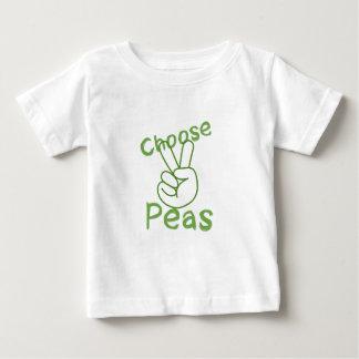 T-shirt Pour Bébé paix et pois