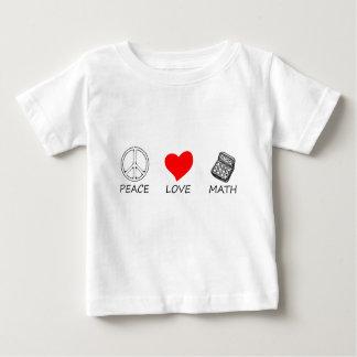 T-shirt Pour Bébé paix love5
