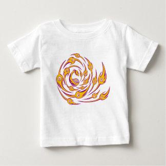 T-shirt Pour Bébé paon