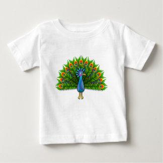T-shirt Pour Bébé paon #3