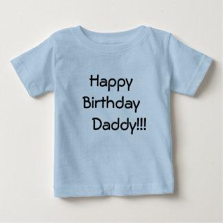 T-shirt Pour Bébé Papa de joyeux     anniversaire ! ! !