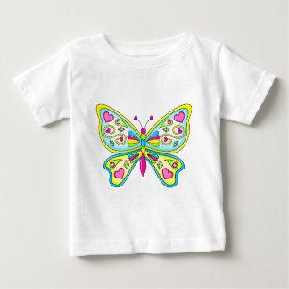 T-shirt Pour Bébé Papillon mignon