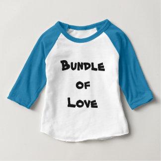 """T-shirt Pour Bébé """"Paquet de tee - shirt bleu et blanc d'amour"""" de"""