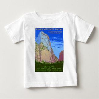 T-shirt Pour Bébé Parc national de Zion
