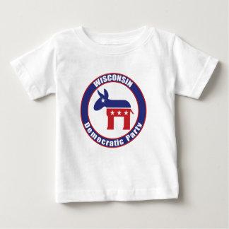 T-shirt Pour Bébé Parti démocrate du Wisconsin