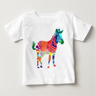 T-shirt Pour Bébé Partie décorée d'un monogramme de motif d'animaux