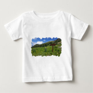 T-shirt Pour Bébé Passage d'ingénieur et signe minéral de crique