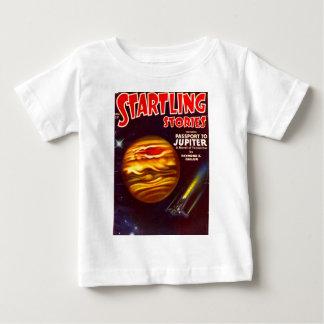 T-shirt Pour Bébé Passeport à Jupiter