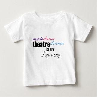 T-shirt Pour Bébé Passion de théâtre