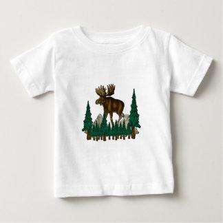T-shirt Pour Bébé Pays d'orignaux