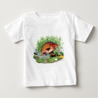 T-shirt Pour Bébé Pêche de carpe
