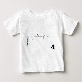T-shirt Pour Bébé Pêche de mouche
