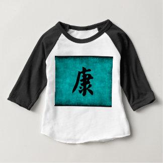 T-shirt Pour Bébé Peinture de caractère chinois de santé dans le