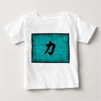 T-shirt Pour Bébé Peinture de caractère chinois pour la force dans