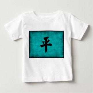 T-shirt Pour Bébé Peinture de caractère chinois pour la paix dans le