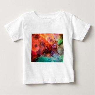 T-shirt Pour Bébé Peinture organique abstraite d'éclaboussure de