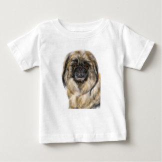 T-shirt Pour Bébé Pekingese