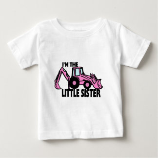 T-shirt Pour Bébé Pelle rétro de petite soeur