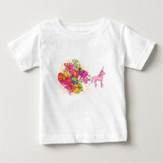 T-shirt Pour Bébé Pet de licorne
