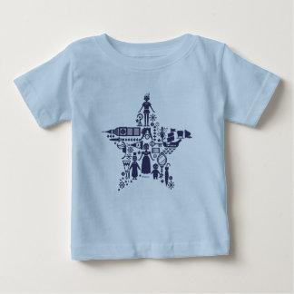 T-shirt Pour Bébé Peter Pan et étoile d'amis