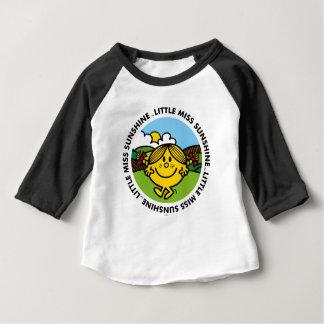 T-shirt Pour Bébé Petit cercle de soleil de Mlle Sunshine |