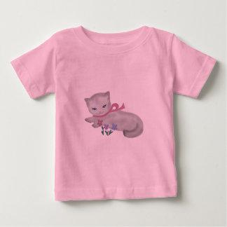 T-shirt Pour Bébé Petit chaton
