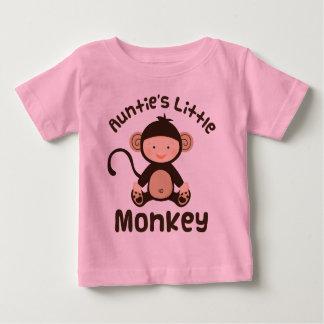 T-shirt Pour Bébé Petit singe de tantes