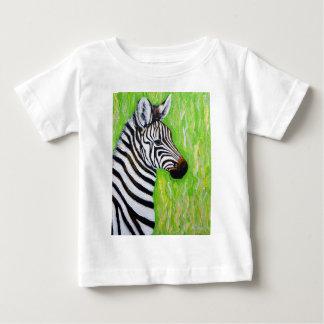 T-shirt Pour Bébé Petit zèbre