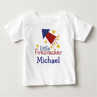T-shirt Pour Bébé Petite chemise personnalisable de kiddie de pétard