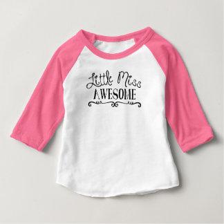 T-shirt Pour Bébé Petite Mlle Awesome - nourrisson