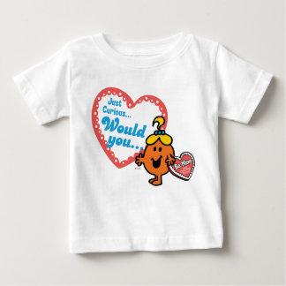 T-shirt Pour Bébé Petite Mlle Curious | Valentine