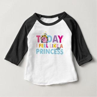 T-shirt Pour Bébé Petite Mlle le princesse | que je me sens comme