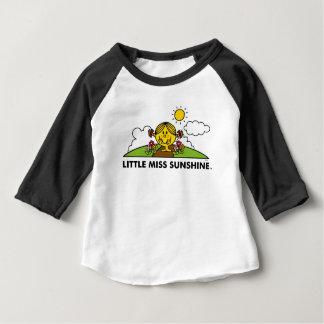 T-shirt Pour Bébé Petite Mlle Sunshine | de nouveau à la nature