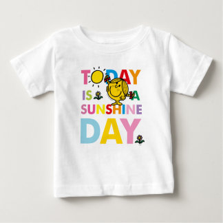 T-shirt Pour Bébé Petite Mlle Sunshine | est aujourd'hui un jour de