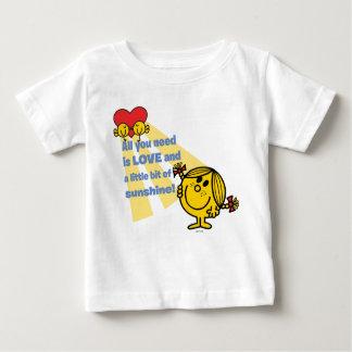 T-shirt Pour Bébé Petite Mlle Sunshine | tout que vous avez besoin