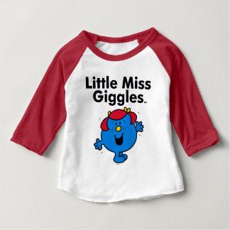 T-shirt Pour Bébé Petite petite Mlle Giggles Likes To Laugh de la