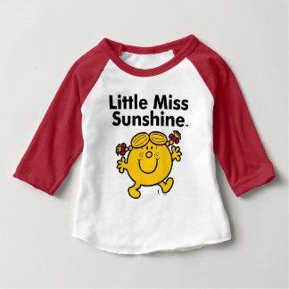 T-shirt Pour Bébé Petite petite Mlle Sunshine de la Mlle   est un