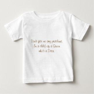 T-shirt Pour Bébé Petites divas