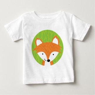T-shirt Pour Bébé Petits amis astucieux de la région boisée Fox