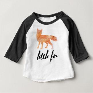 T-shirt Pour Bébé Peu de Fox badine la chemise de base-ball