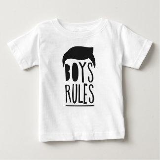 T-shirt Pour Bébé Peu de garçon vintage noir de cool d'homme