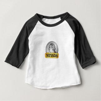 T-shirt Pour Bébé pièce de monnaie du Nevada