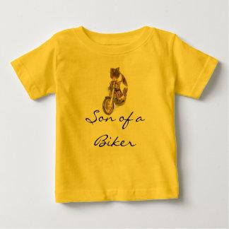 T-shirt Pour Bébé Pièce en t de bébé, fils d'un cycliste