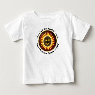 T-shirt Pour Bébé Pièce en t de survivant de zone de totalité